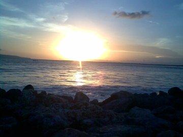 Sunset Pantai Puger - Jember
