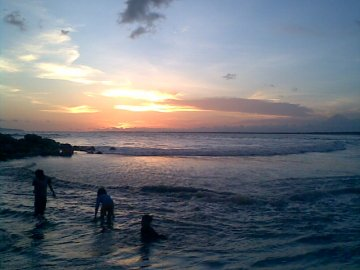 Pantai Puger Sunset